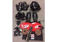 Full safety kit for karate