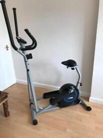 Pro Fitness 2 in 1 Cross Trainer