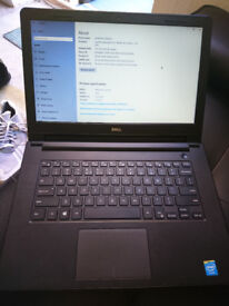"DELL Inspirion 3541 14"" LAPTOP WIDOWS 10, 4gb ram, 500gb HDD"