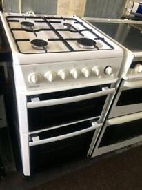 White beko 50cm gas cooker grill & oven good condition with guarantee