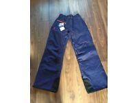 Brand New Salomon Ladies Ski Pants in Wizard Violet (small)