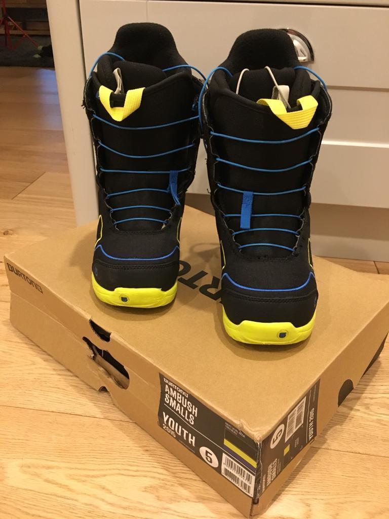 Burton Snowboard Boots Size 4