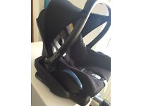 Maxi Cosi cabriofix car seat from birth used but good condition, smoke, accident and pet free