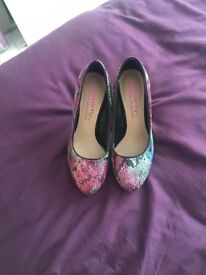 Ladies Butterfly shoes from Matthew williamson