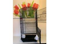 BARGAIN. TALL BIRD CAGE IN GOOD CONDITION. LOCAL DELIVERY POSSIBLE