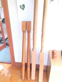 4 poster bed posts