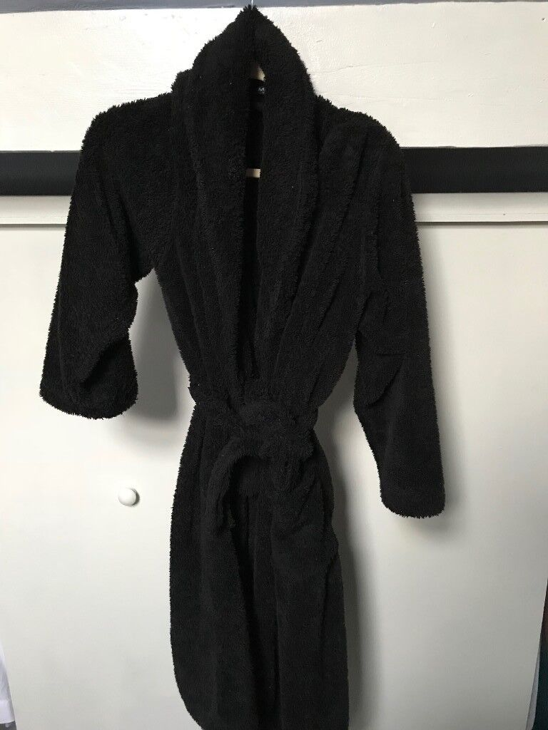 Mens Black Dressing Gown and Slippers | in Cheltenham ...