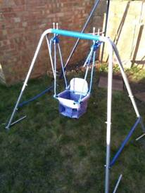 Outdoor baby swing chair