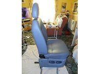 2011 drivers seat for transit van vgc
