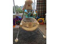 Fisher Price Starlight Cradle n Swing