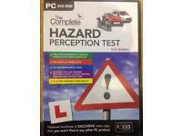 Hazard perception PC DVD-rom