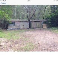 Yard for rent chertsey