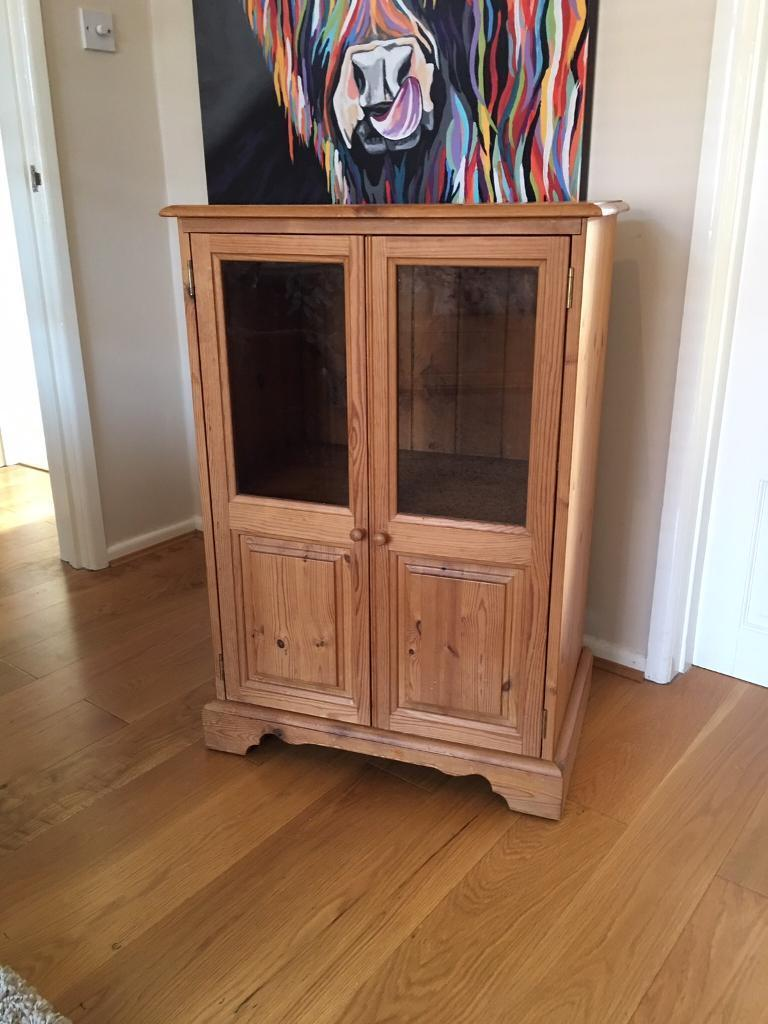 Solid Pine Stereo Cabinet With Possible Delivery