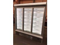 Refurbished Integral Full Glass Door Display Freezers