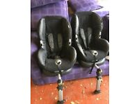 Maxi-Cosi Priorifix Group 1 Car Seats (Isofix or Seat Belt fix)