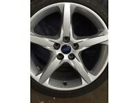Ford 5 stud alloys brand new 225/40/18