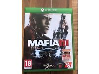 mafia 3 , Xbox one , as New ! Price stands , no offers !