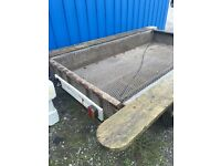 8x4 galvanised trailer