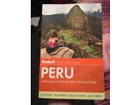 Fodor's Peru travel guide