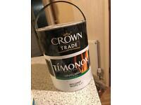 Timonox vinyl matt. Flame retardant paint 5l