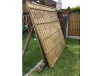 6ft x 6ft Fence Panels (x2)