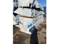 New heavy duty timber shiplap cladding