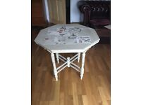 Octagonal table - upcycling project