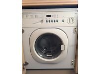 Superb LED, integrated washing machine - Baumatic BWR120, 6kg capacity - just £140 or near offer!