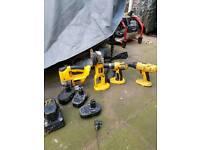 Dewalt drills angle grinder jig saw and circular saw