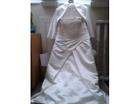 Gorgeous Ivory Wedding Dress Size 18-20