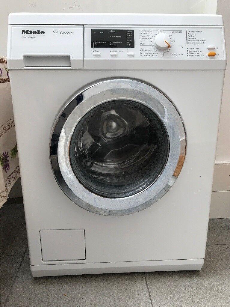 miele w classic washing machine german label in richmond london gumtree. Black Bedroom Furniture Sets. Home Design Ideas