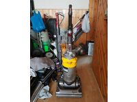 yellow dyson DC14 all Floors Upright Hoover Vacuum Cleaner tools 1 week guarantee no texi