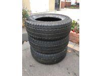 3 Tyres Part Worn excellent condition