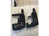 Bosch Hammer Drills sold as seen