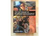Dictionary of Human Geography 5th Edition