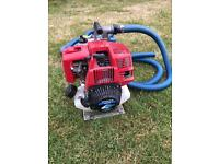 Honda WX10 Petrol 4 Stroke Water Pump with hoses
