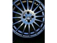 4 X 18INCH FINICHI MILANO ALLOY WHEELS