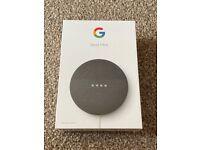 Google Nest Mini (2nd Generation) Smart Speaker - Charcoal (Brand New & Sealed)