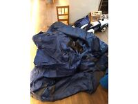 Used once LA Trekking 3 man blue tent - absolute bargain!