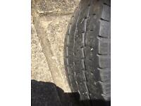 Vw t4 steel wheel and tyre