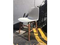 NORMANN COPENHAGEN Form Dining Chairs - BLACK/BLUE/GREY/RED - RRP £240