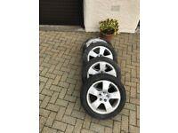 """Audi 16"""" Alloy wheels set of 4."""