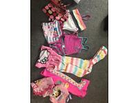 Bundle of swimwear girls next and other makes
