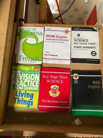 Revision books Ks2 and GCSE