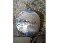 One Galloway, one TAYLORMADE BURNER golf clubs