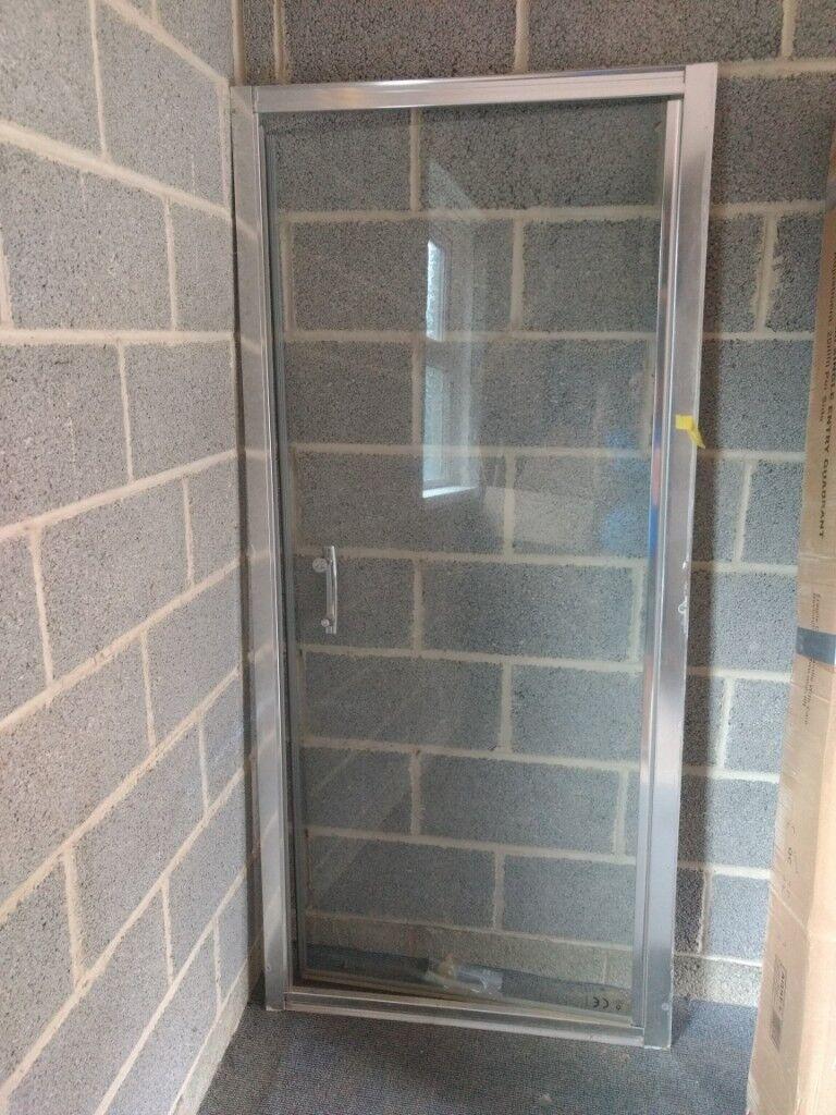 Glass Shower Screen Door With Frame In Swindon Wiltshire Gumtree