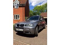 BMW X3 MSPORT. 2.0D.88500 miles. Full Service History.Leather interior.new clutch/flywheel this year