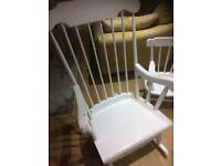 Adult size rocking chair