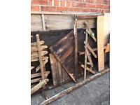 Scrap timber/wood