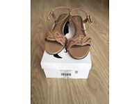 LADIES NATURAL WEAVE SANDAL - SIZE 8 from LONG TALL SALLY